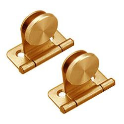 Brass Glass Hinge Bracket
